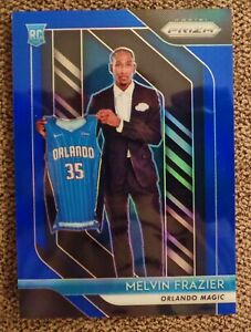 2018-19-PANINI-PRIZM-109-MELVIN-FRAZIER-BLUE-PRIZM-081-199-ORLANDO-MAGIC-MINT