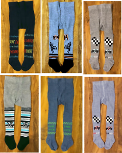 Baby Boys Tights Socks Leg Warmers Colours Patterns 3-6-9-12-18-24-36 M 2-3-4Y