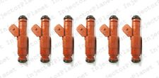 Set of 6 UPGRADE Jeep 4.0L Bosch Type III Fuel Iinjectors 30LB EV1 0280155831