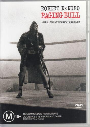 1 of 1 - Raging Bull / Robert De Niro (20th Anniversary Edition - 2 Disc Set) REGION 4