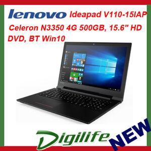 Lenovo-IdeaPad-V110-15-6-034-HD-LED-Intel-N3350-4GB-500GB-DVD-RW-WiFi-AC-BT-Win10