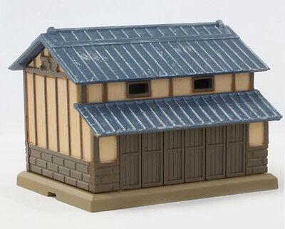 Rokuhan S029-2 Z Scale Metal-Roof Barn (Dark Blue) (1/220 Z Scale)