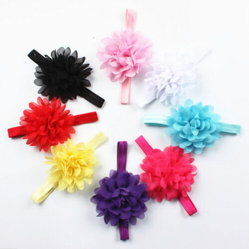 Kids Girl Baby Toddler Flower Headband Hair Band Accessories Headwear Kr
