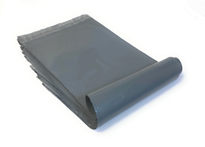 Grey-Mailing-Bags-Plastic-Mail-Post-Postage-Polythene-Strong-Self-Seal