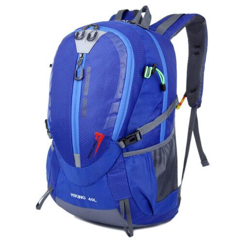 40L Large Rucksack Bag Travel Hiking Backpack Outdoor Sport Camping Luggage Bag