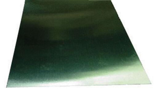 L Steel Plated Tin  Sheet Metal K/&S  0.008 in W x 12 in x 6 in