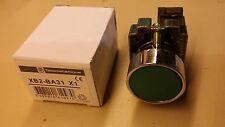 Bouton poussoir Telemecanique couleur vert BX2 BA31 neuf + contact NO