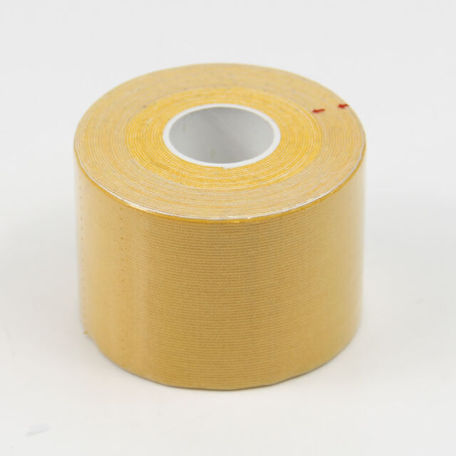 1 Roll 5m x 5cm Elastic Sports Muscles Care Kinesiology Physio Therapeutic Tape