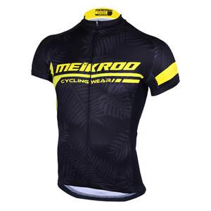Chemise-Cycliste-Masculine-En-Velo-Manches-Courtes-Chemise-Coupe-Rapide