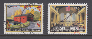 US-Sc-4738-4739-used-2013-5-60-Bridge-19-95-Grand-Central-Terminal-F-VF