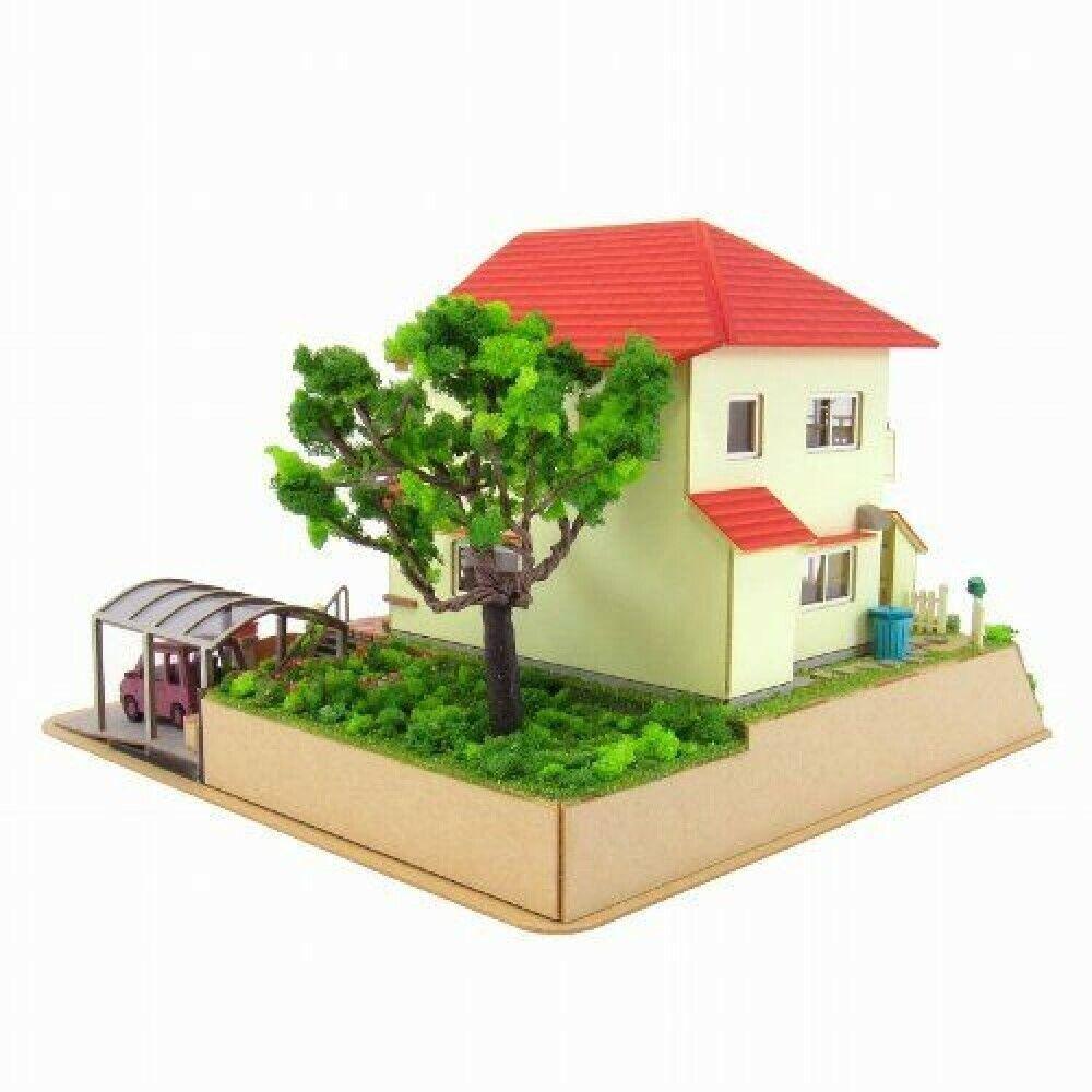 Sankei Miniatuart kit Studio Ghibli Series Ponyo Sosuke and Ponyo/'s house 1 JP