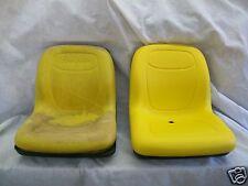 HIGH BACK YELLOW PIVOT SEAT JOHN DEERE CS & CX GATORS < 39999 SERIAL NUMBER #DL