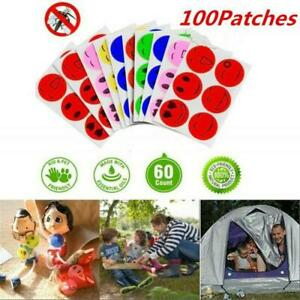 MoskiPatch® 120 Pcs Natural Mosquito Repellent Sticker Patches Trap Anti Kids