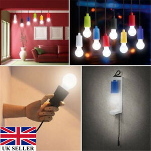 Portable-Battery-Operated-LED-Light-Bulb-On-A-Rope-Pull-Cord-Reading-Lamp-UK