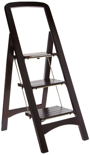 Swell Wooden Folding Step Stool Ladder Chair Climb Up Tools Library Home Stair New Gmtry Best Dining Table And Chair Ideas Images Gmtryco
