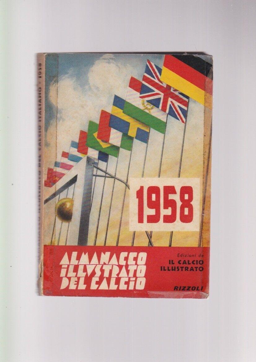 ALMANACCO ILLUSTRATO DEL CALCIO 1958 originale  rizzoli boccali