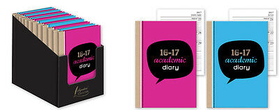 2016/17 Student Diary A5 Week to View Academic Diary School Timetable Planner