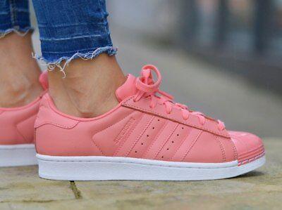 Adidas Superstar Metal Toe W by9750 Damen Sneakers | eBay