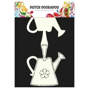 dutch doobadoo card art template watering can 713614