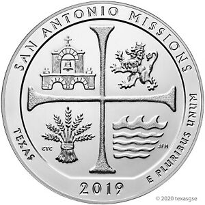 2019-ATB-San-Antonio-Missions-Silver-5-oz-25C-Brilliant-Uncirculated