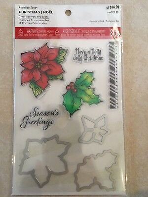 Trio Friend Clear Stamp /& Die Set By Recollections™ 529318 CHRISTMAS