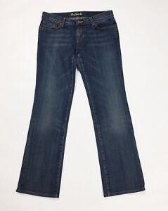 Polo-jeans-RL-W28-tg-42-slim-dritti-donna-usato-stretch-blu-boyfriend-T2487