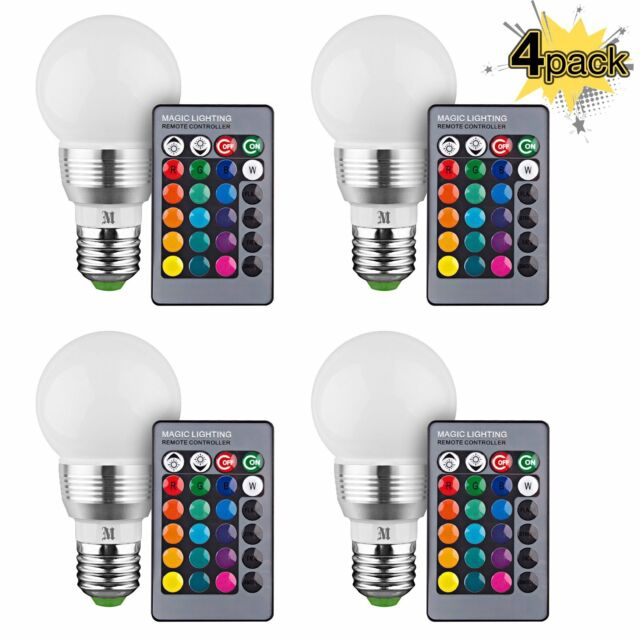 Buy Kobra Retro Led Color Changing Light Bulb With Remote Control 4