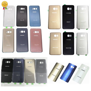 OEM-Housing-Rear-Back-Door-Battery-Cover-Glass-For-Samsung-Galaxy-S6-S7-S8-note5
