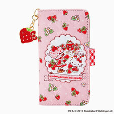 Hello kitty x Strawberry Shortcake Frip case i-Phone 6/6S Limited From Japan