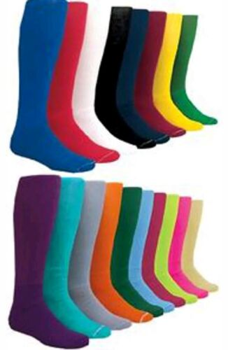 Kids Small For Youth Solid Color Baseball Socks Sock Size 6-8