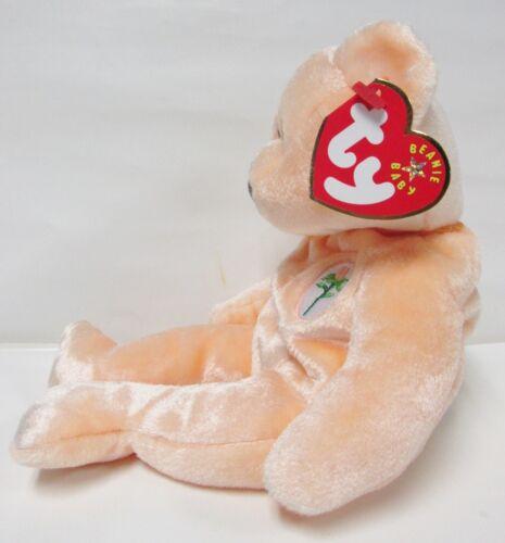 Peach tone Mother/'s Day Teddy Bear PRISTINE w//Mint Tags Ty Beanie Baby Dearest