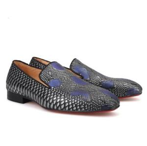 Men-Fashion-Sexy-Snakeskin-Leather-Shoes-Party-Club-Loafers-Youth-Dress-Shoes
