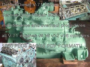 detroit diesel series 71 service manual 8v 71ta 6v 71ta engine rh ebay com detroit diesel 8v71 workshop manual detroit diesel 8v71 service manual