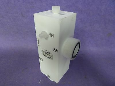 ADVANCE AS-5260-131CiW VALVE Teflon USED