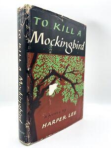To Kill a Mockingbird - 1ST EDITION - 4th Printing Original DJ - Harper Lee 1960