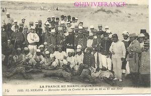 CPL56-MAROC-EL-MERADA-MAROCAINS-MORTS-AU-COMBAT-1912-LEGION-ETRANGERE
