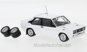 Fiat 131 Abarth 1978  Body Version zzgl 4 Ersatzräder  1:43 IXO MDCS028  *NEW*