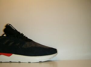 check out d8c7e 3501d Details about Adidas Originals Tubular Moc Runner Black Red White Sz. 12  Moccasin Y3 B24693