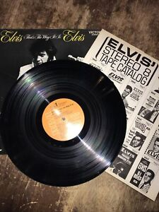 RARE Elvis That's The Way It Is LSP-4445 RCA Victor Vinyl