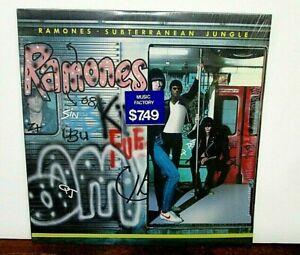 RAMONES-SUBTERRANEAN-JUNGLE-VINYL-LP-NR-MT-1983-SIRE-23800-1-W-LYRIC-amp-SHRINK-WR