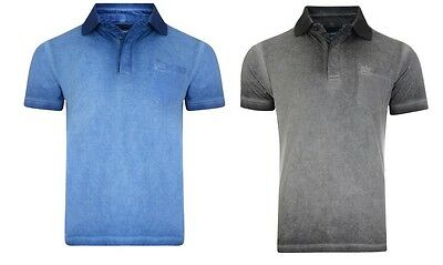 New KAM KBS 5033 POLO WITH Enzyme Wash Polo COLLAR 2XL-8XL BIG SIZES