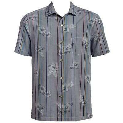 Tommy Bahama Costa Cascade Hawaiian Camp Shirt XL NEW $135 Zephyr Blue