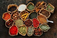 100g Whole and Ground Indian Herbs & Spices, curry masala *50 variety*