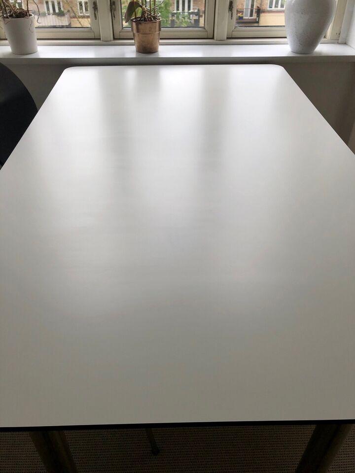 Spisebord, Laminat (Hvid), b: 90 l: 150