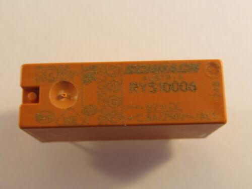 RYS10006 Schrack Printrelais waschdicht 1 Wechsler 6VDC
