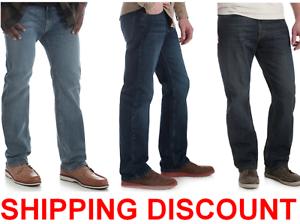 5c234030 Wrangler 5 Star STRAIGHT Fit Jean with Flex Premium Denim Men's | eBay