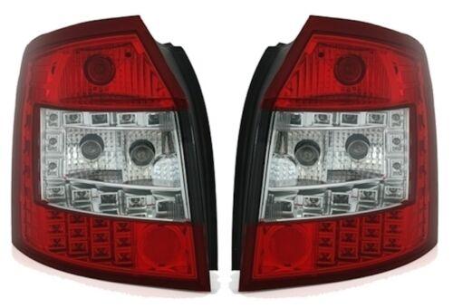FEUX ARRIERE LED AUDI A4 B6 8E AVANT BREAK 04//2001-12//2004 BLANC ROUGE