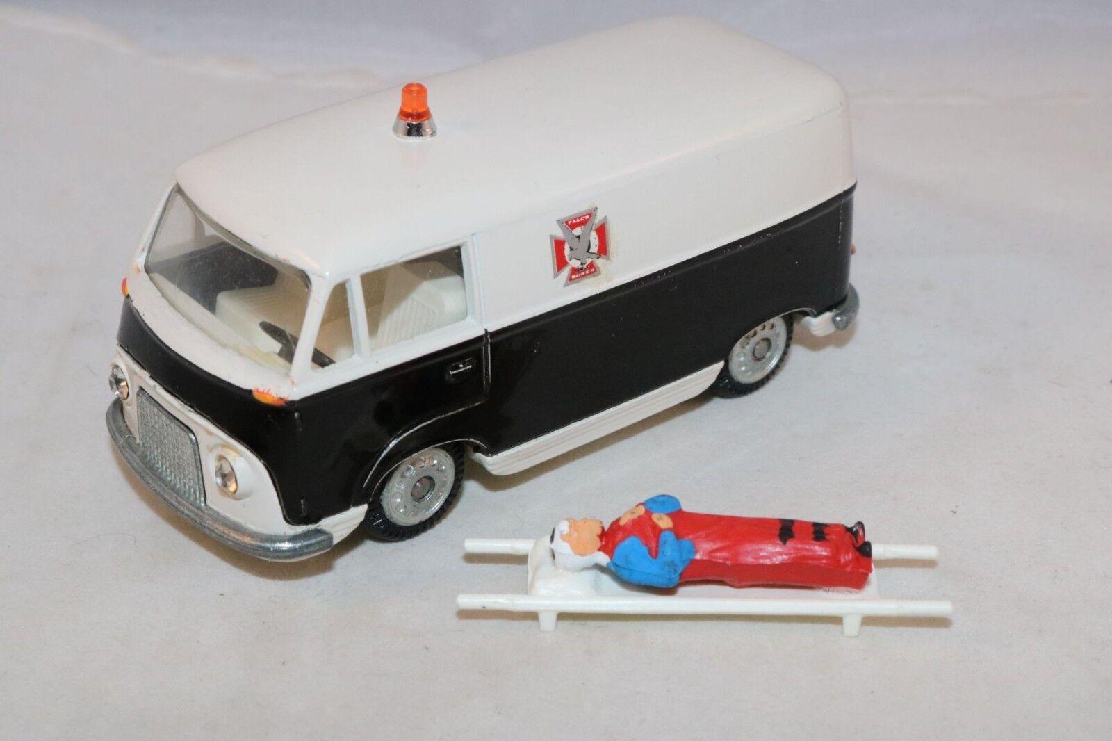 Tekno 415 FALCK rossoskabsvogn Ford Taunus Transit ambulance perfect mint