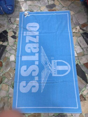 TELO MARE SS LAZIO SPUGNA COTONE 100/% UFFICIALE 100x180cm BAGNO CAPITALE AQUILA