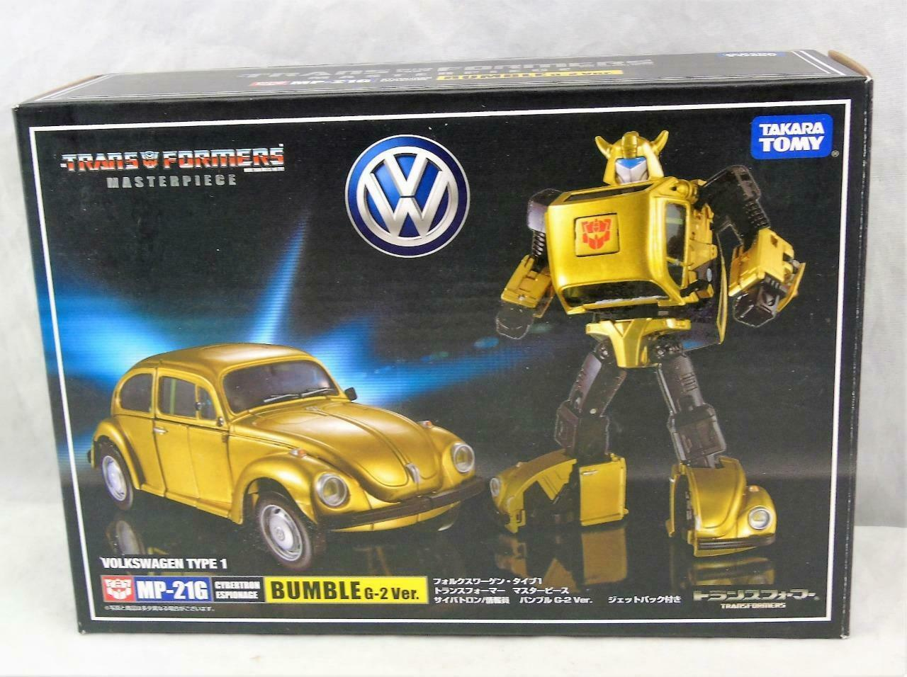 Transformers Masterpiece Takara MP21G Bumblebee completo di scatola